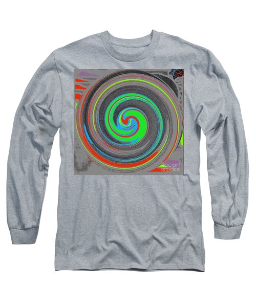 Long Sleeve T-Shirt featuring the digital art My Hurricane by Catherine Lott
