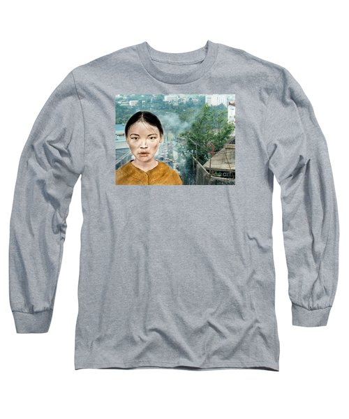 My Kuiama A Young Vietnamese Girl Version II Long Sleeve T-Shirt