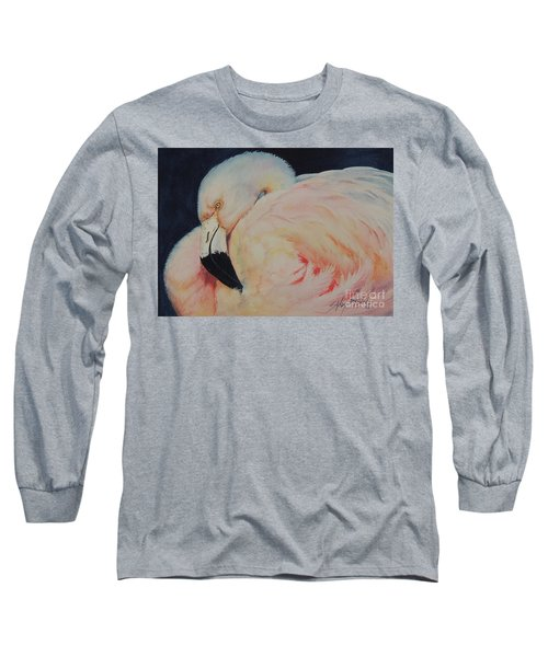 My Pink Flamingo...sold  Long Sleeve T-Shirt