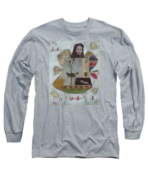 My Song Is Inside Me Long Sleeve T-Shirt by Casey Rasmussen White