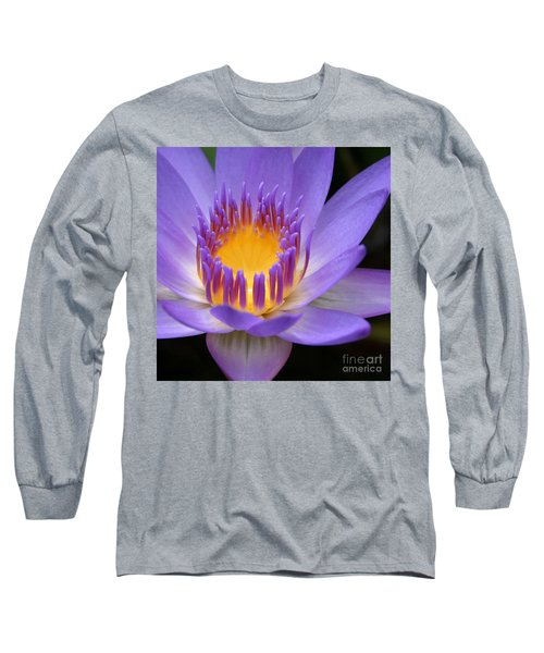 My Soul Dressed In Silence Long Sleeve T-Shirt by Sharon Mau