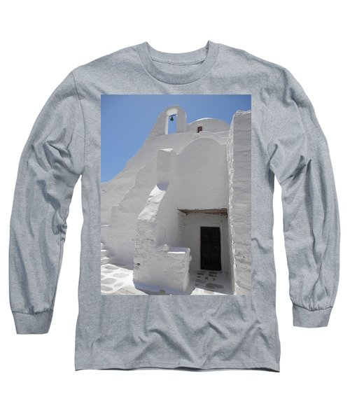 Mykonos Church Long Sleeve T-Shirt