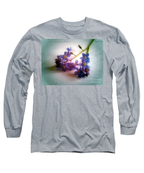 Myosotis  Forget Me Not Long Sleeve T-Shirt
