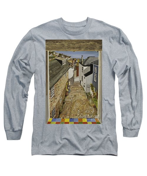 Myrtle Cottage View Long Sleeve T-Shirt