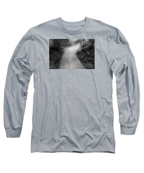 Mysterious Long Sleeve T-Shirt by Alice Cahill