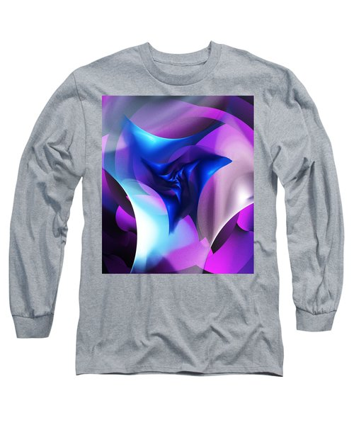 Long Sleeve T-Shirt featuring the digital art Mysterious  by David Lane