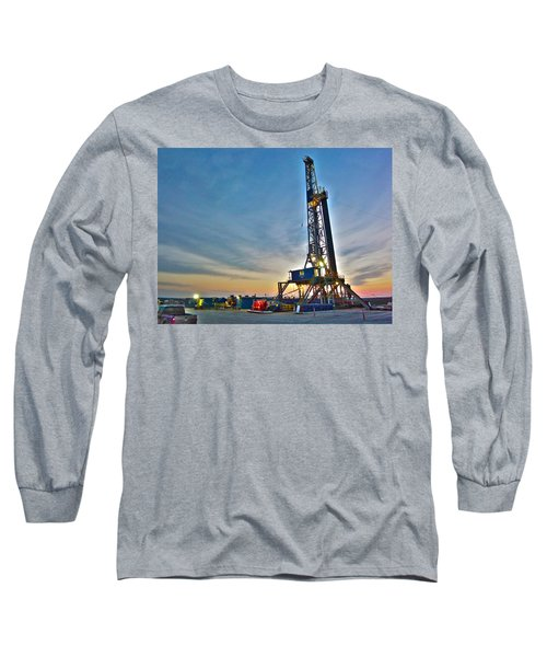 Nabors Rig In West Texas Long Sleeve T-Shirt