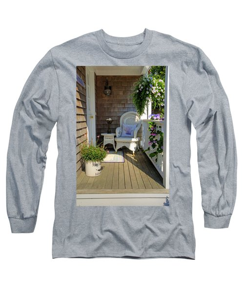 Nantucket Porch Long Sleeve T-Shirt