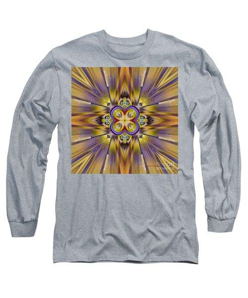 Native American Spirit Long Sleeve T-Shirt by Deborah Benoit