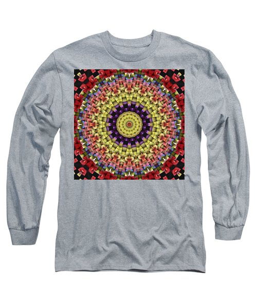 Natural Attributes 09 Square Long Sleeve T-Shirt by Wendy J St Christopher