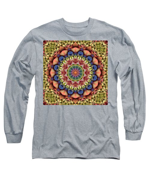Natural Attributes 12 Square Long Sleeve T-Shirt by Wendy J St Christopher