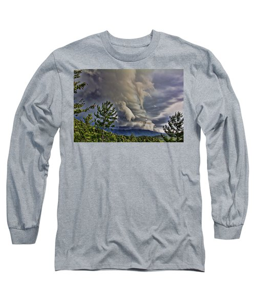 Nature Showing Off Long Sleeve T-Shirt by Tom Culver