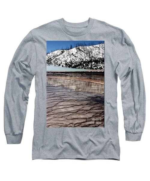 Nature's Mosaic II Long Sleeve T-Shirt by Sharon Elliott