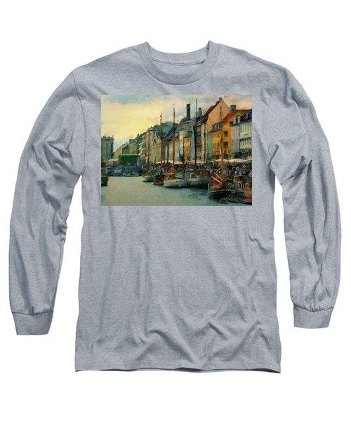 Nayhavn Street Long Sleeve T-Shirt