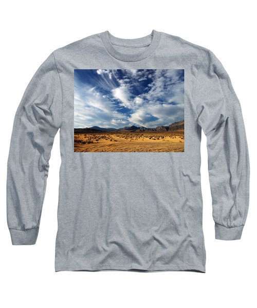 Near The Intersection Of God And The Eastern Sierras Long Sleeve T-Shirt