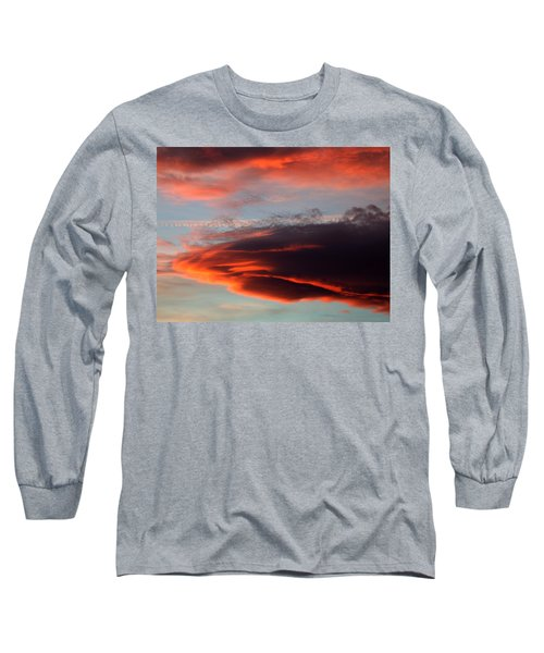 Nearly Red Long Sleeve T-Shirt
