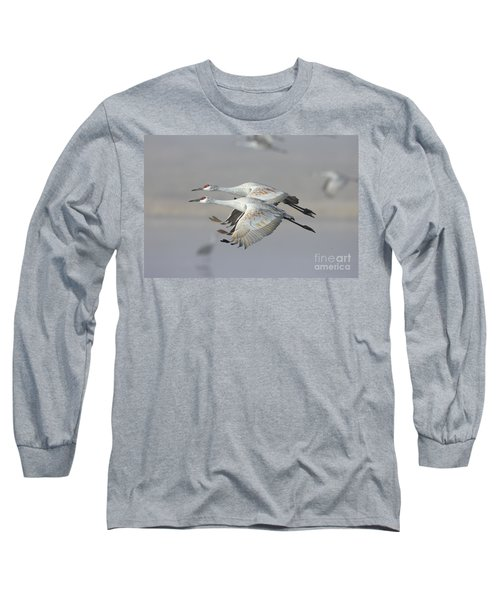 Neck N Neck Long Sleeve T-Shirt by Bryan Keil