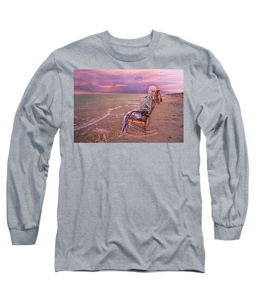 Never Let Fear Decide Your Fate Long Sleeve T-Shirt