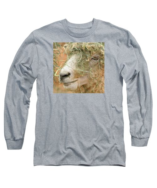 New Hair Style Long Sleeve T-Shirt by Art Block Collections