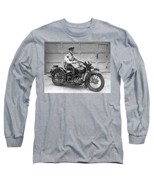 New Jersey Motorcycle Trooper Long Sleeve T-Shirt