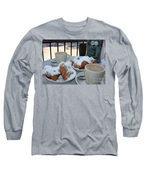 New Orleans Breakfast Long Sleeve T-Shirt