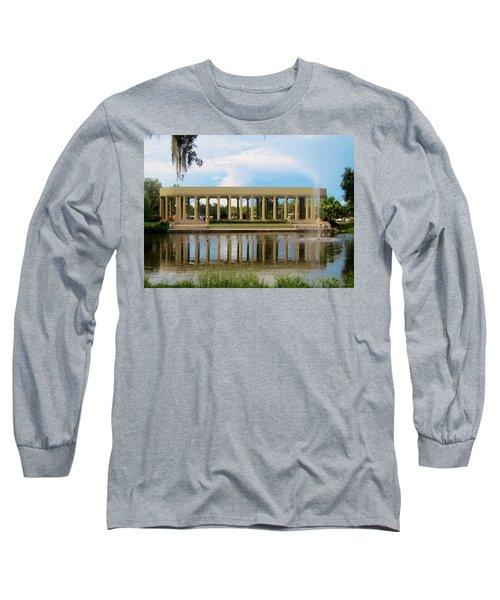 New Orleans City Park - Peristyle Long Sleeve T-Shirt by Deborah Lacoste