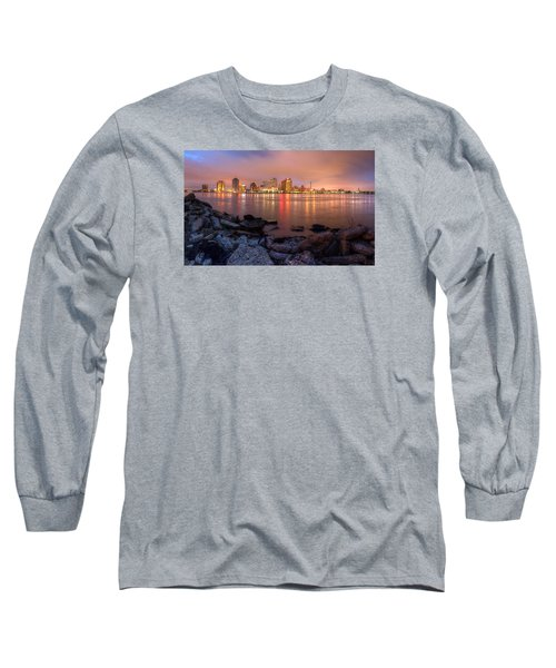 Long Sleeve T-Shirt featuring the photograph New Orleans Skyline by Tim Stanley