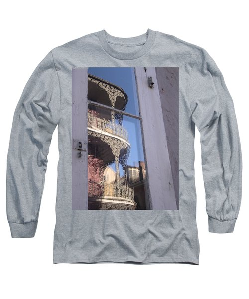 New Orleans Window Long Sleeve T-Shirt