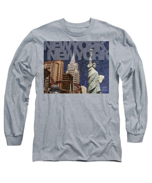 New York New York Las Vegas Long Sleeve T-Shirt