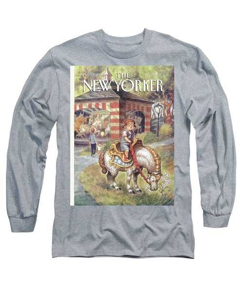 New Yorker April 11th, 1994 Long Sleeve T-Shirt