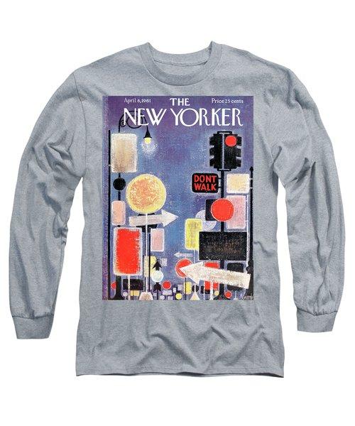 New Yorker April 8th, 1961 Long Sleeve T-Shirt