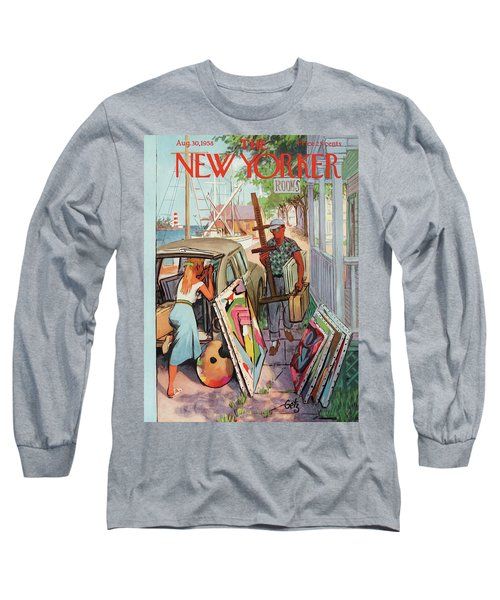 New Yorker August 30th, 1958 Long Sleeve T-Shirt