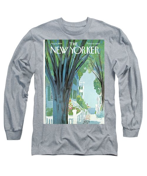 New Yorker August 30th, 1969 Long Sleeve T-Shirt