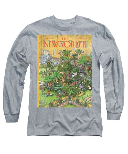 New Yorker August 5th, 1991 Long Sleeve T-Shirt