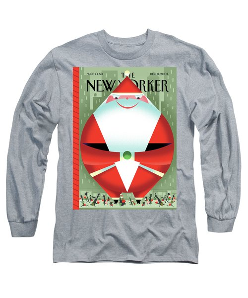 New Yorker December 17th, 2007 Long Sleeve T-Shirt