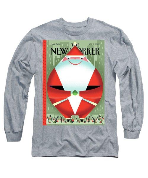 New Yorker December 17th, 2007 Long Sleeve T-Shirt