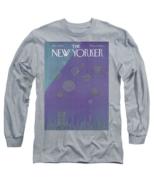 New Yorker December 27th, 1976 Long Sleeve T-Shirt