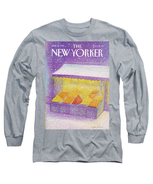 New Yorker January 12th, 1981 Long Sleeve T-Shirt
