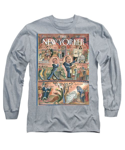 New Yorker January 18th, 1999 Long Sleeve T-Shirt