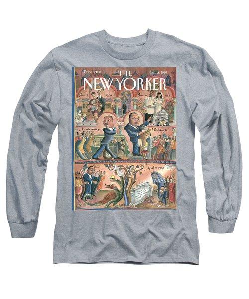 New Yorker January 18th, 1999 Long Sleeve T-Shirt