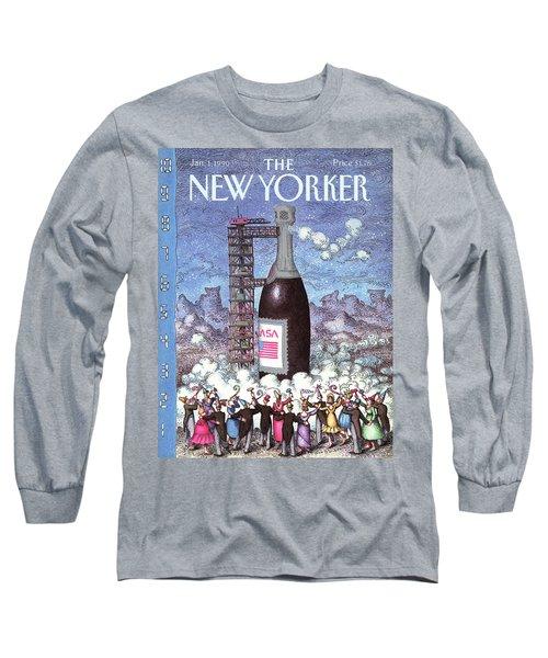 New Yorker January 1st, 1990 Long Sleeve T-Shirt