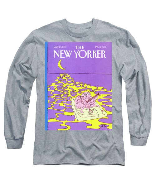 New Yorker July 27th, 1987 Long Sleeve T-Shirt