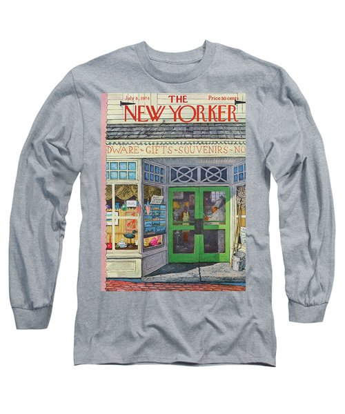 New Yorker July 8th, 1974 Long Sleeve T-Shirt