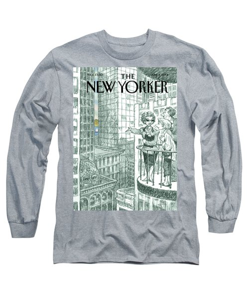 New Yorker June 11th, 2001 Long Sleeve T-Shirt