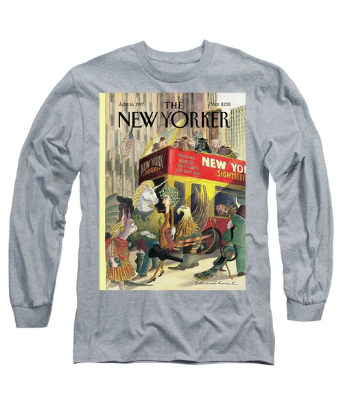 New Yorker June 16th, 1997 Long Sleeve T-Shirt