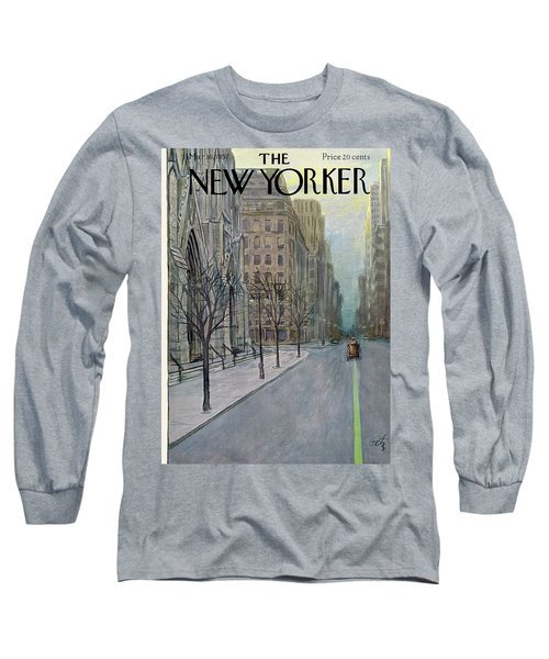New Yorker March 16th, 1957 Long Sleeve T-Shirt