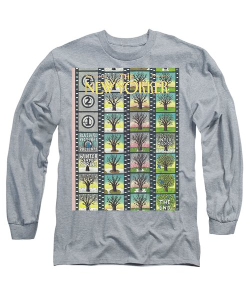 New Yorker March 30th, 1992 Long Sleeve T-Shirt