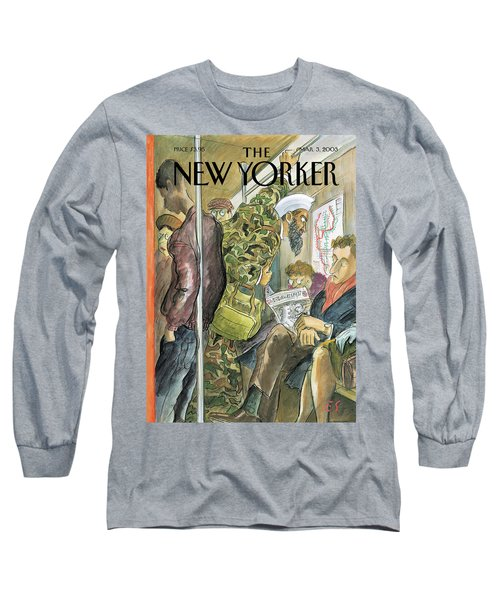 New Yorker March 3rd, 2003 Long Sleeve T-Shirt