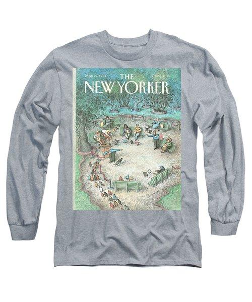 New Yorker May 27th, 1991 Long Sleeve T-Shirt