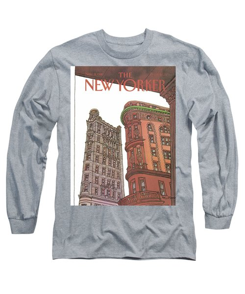 New Yorker November 9th, 1981 Long Sleeve T-Shirt